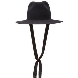 NWT👒Janessa Leone Jordan Packable Wool Fedora Hat